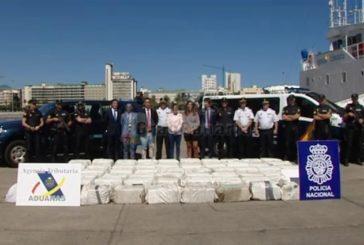 Kokain im Wert von 65 Millionen Euro auf dem Weg nach Gran Canaria abgefangen