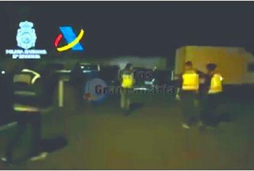 Drogen-Ring der jedes Jahr 10 Tonnen Haschisch auf den Kanaren verteilte zerschlagen - 31 Festnahmen