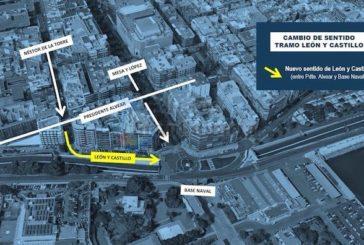 Las Palmas: Calle León y Castillo ändert permanent die Fahrtrichtung!