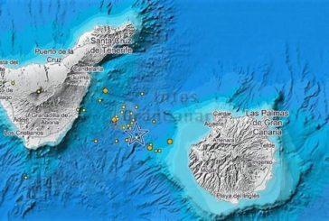 15 Seebeben binnen 7 Stunden zwischen Gran Canaria und Teneriffa registriert