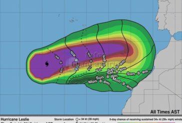 UPDATE Hurrikan Leslie: Ab Samstag kann es ungemütlich werden auf den Kanaren