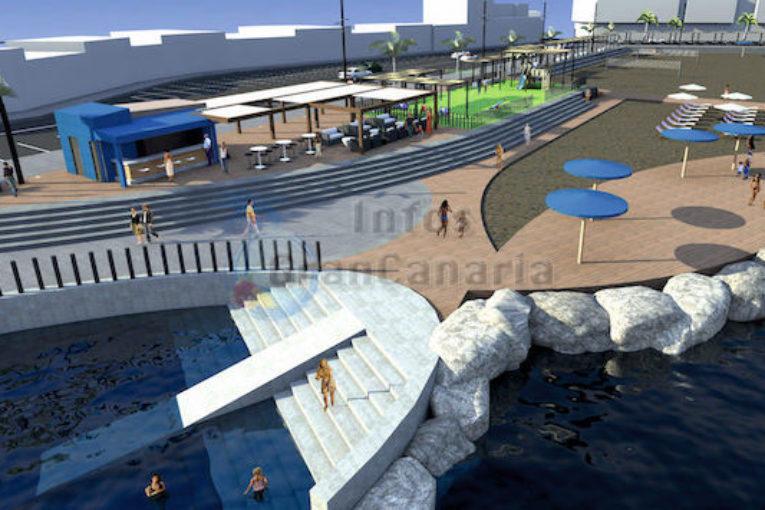 Umbau Strand El Perchel