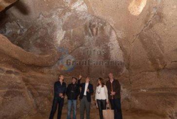 Höhle Tara in Telde ist ein neues archäologische Erbe und kommt Risco Caído sehr nahe