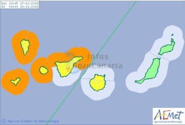 Wetterwarnung der Stufe orange - Wellen bis 6,5 Meter - Las Palmas aktiviert Notfallplan