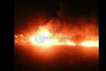 Feuer auf Campingplatz in Castillo del Romeral - Keine Menschen verletzt