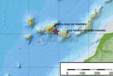Seebeben der Stärke 4,2 mit Spitzenwert von 4,7 zwischen Gran Canaria und Teneriffa registriert