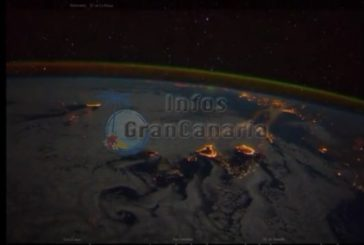 Hello #CanaryIslands ein Weltraumbild grüßt uns