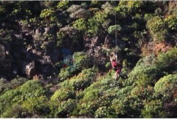 3 Wanderer im Guayadeque-Tal ber Hubschrauber gerettet
