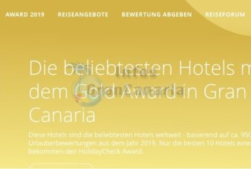 3x HolidayCheck GOLD Award für Gran Canaria