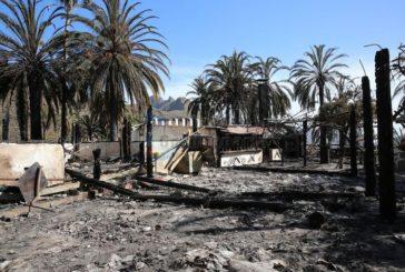 Waldbrand in Fataga: Gelöscht aber Hotel Molino de Agua teilweise zerstört