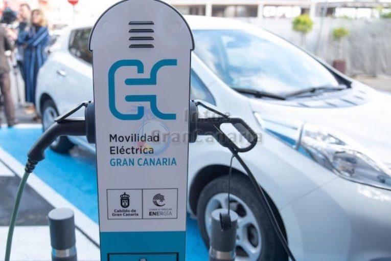 Elektro Auto Ladestation Gran Canaria