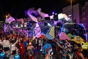 300.000 Besucher waren auf der Parade zum Karneval Maspalomas 2019