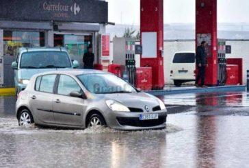 Starke Regenfälle gab es besonders in Telde, Agüimes und Ingenio