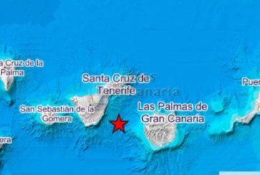 Seebeben der Stärke 3,2 zwischen Gran Canaria und Teneriffa - Die Inseln bewegen sich aufeinander zu!