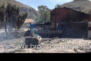 Aufräumarbeiten im Molino de Agua haben begonnen - Sie können auch helfen!