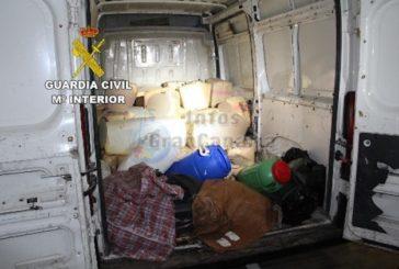 Verlassener Lieferwagen mit mehr als 1,6 Tonnen Haschisch beschlagnahmt