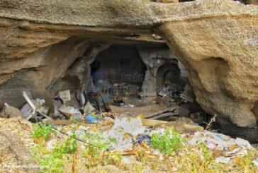 Kulturerbe Höhlen von Facaracas in Gáldar verkommt zur Müllkippe