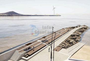 Pozo Izquierdo bekommt einen hübscheren Damm für Badegäste