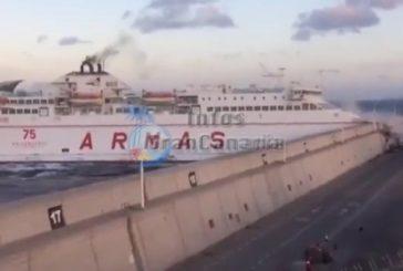 Untersuchungsergebnis: Unfall einer Fähre die in die Hafenmauer krachte ist aufgeklärt
