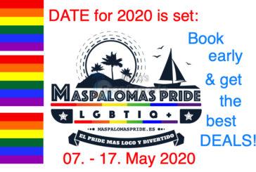Gaypride Maspalomas 2020 - Der Termin steht fest! - 2019 war ein erfolgreiches Jahr.