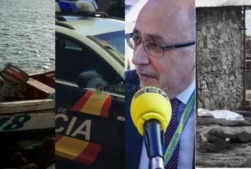 In Kurz: Leiche am Strand in Las Palmas, Morales verteidigt Punprkraftwerk, 7 Autos beschädigt & Flüchtlingsboot kam an