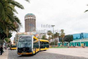 100% elektro Bus - Erste Testfahrt in Las Palmas absolviert