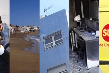In Kurz: PP & CC im Süden einig - Leiche am Strand - Feuer im Hotel - Neues Hypothekengesetz - Unfälle auf der GC-1