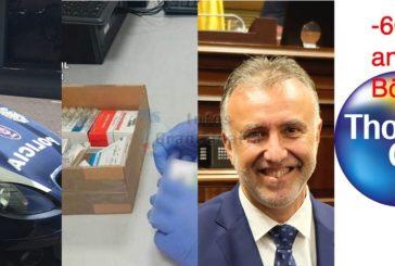 Kurz: Schmuggel ins Gefängnis, Festnahme - Paketschmuggel mit Steroiden - Torres neuer Präsident - Thomas Cook pleite?