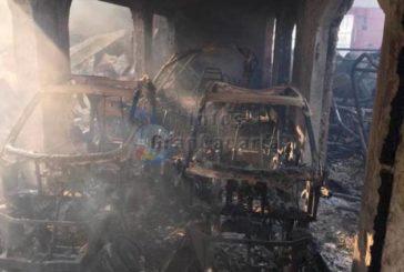 Polizei: Ein Unfall durch Funkenflug verursachte das Feuer in der La Perla