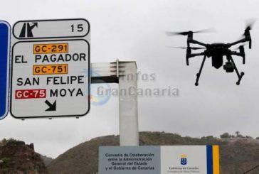 Seit 1. August stellen Flugdrohnen Strafzettel auf den Kanarischen Inseln aus