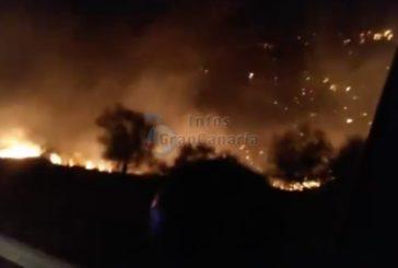 GELÖSCHT - Waldbrand Nummer 2 auf Gran Canaria ausgebrochen: Diesmal Ingenio & Telde betroffen (inkl. Video)