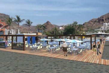 250.000 € für Stranderneuerung in Mogán - Playa del Cura bekommt Restaurantmodul