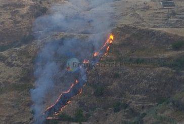 Waldbrand: Diesmal San Mateo - Nahezu gelöscht - Brandstiftung oder Selbstentzündung möglich