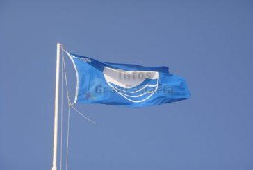 16 blaue Flaggen zeichnen die Qualität der Strände und Häfen auf Gran Canaria aus