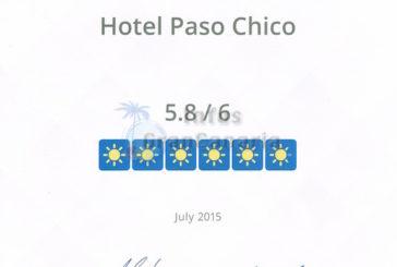 Erstmals seit Bestehen: HolidayCheck Zertifikat für das Gay Hotel Paso Chico