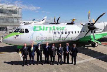 Das erste von 12 neuen Flugzeugen für Binter wurde übergeben