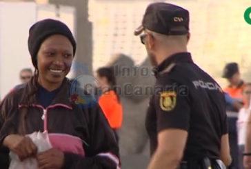 Erneut fast 50 Flüchtlinge in Arguineguin angekommen