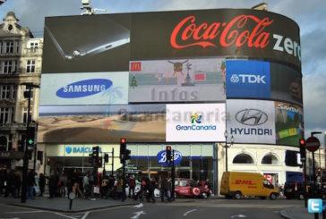 Große Werbeaktion für Gran Canaria im Herzen von London