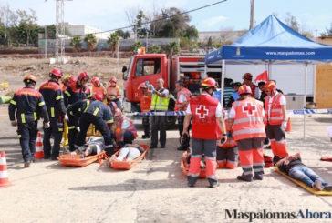 Rettungsübung sorgt für Großeinsatz in San Fernando