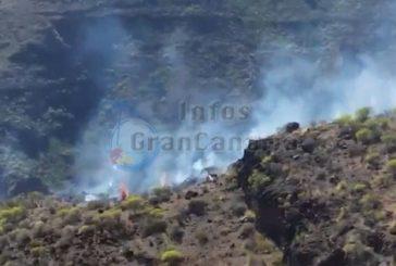 Buschbrand in Mogán sorgt für Schreckmoment