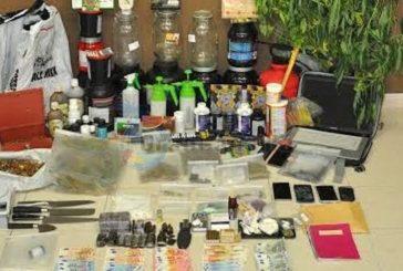 Eine Gruppe von fünf Drogendealern in San Fernando verhaftet