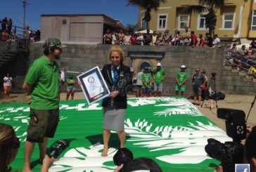 2 neue Guinness Weltrekorde am Playa Las Canteras aufgestellt