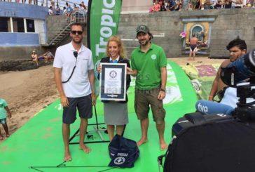 Ein weiterer Guiness Rekord am Playa de Las Canteras aufgestellt