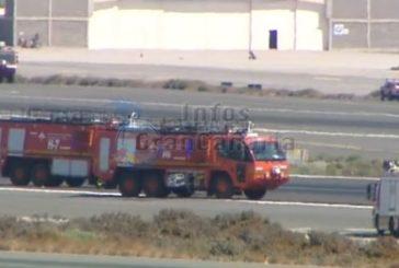 Maschine von Binter am Flughafen von Gran Canaria notgelandet