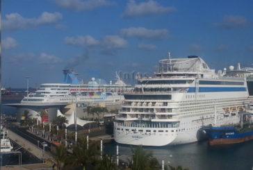 In den kommenden sechs Tagen erreichen 10 Kreuzfahrtschiffe Las Palmas