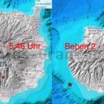 2 Erdbeben auf bzw. an Gran Canaria am heutigen Morgen registriert