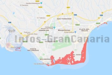 Bis 2050 könnten Dünen und der Strand in Playa del Inglés nahezu verschwunden sein