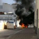 Brandstiftung an Müllcontainern – 66-jährige Frau verhaftet