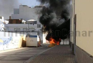Brandstiftung an Müllcontainern - 66-jährige Frau verhaftet