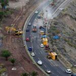 Die GC-1 bei Las Palmas ist ab morgen provisorisch wieder mit 3 Fahrbahnen ausgestattet